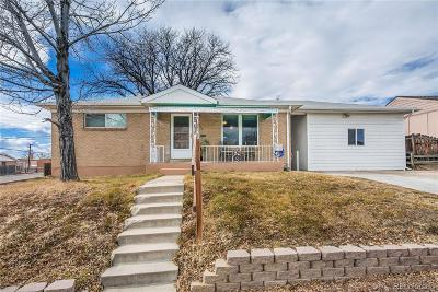 Denver Single Family Home Active: 7003 Elati Street