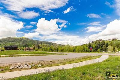 Steamboat Springs Residential Lots & Land Active: 1600 Chaps Way