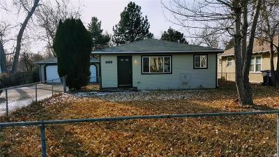 Denver Single Family Home Active: 2716 West Hillside Avenue