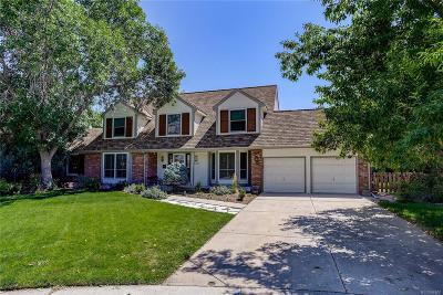 Highlands Ranch Single Family Home Under Contract: 2185 Thistle Ridge Circle