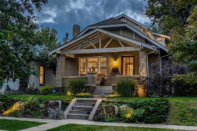Denver Single Family Home Active: 161 South Humboldt Street
