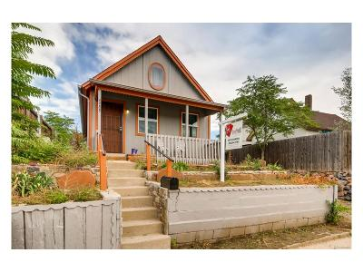 Denver Single Family Home Under Contract: 4488 Delaware Street
