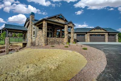 Colorado Springs Single Family Home Active: 17535 Pond View Place
