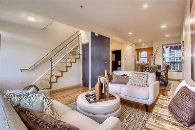Denver Condo/Townhouse Under Contract: 1606 Humboldt Street #A