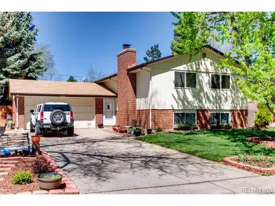 Littleton Single Family Home Active: 7657 South Datura Circle