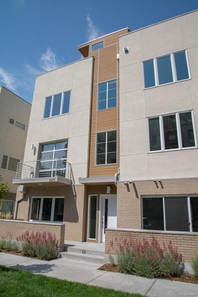 Denver Condo/Townhouse Active: 3875 East Cedar Avenue