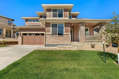 Castle Rock Single Family Home Under Contract: 634 Sage Grouse Circle