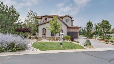 Castle Pines CO Single Family Home Active: $988,000
