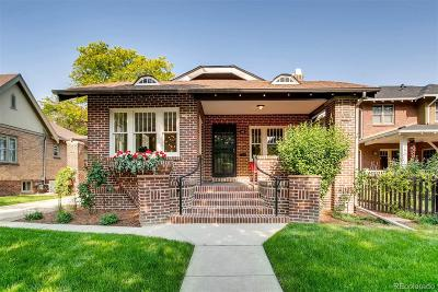 Denver Single Family Home Under Contract: 455 North Lafayette Street