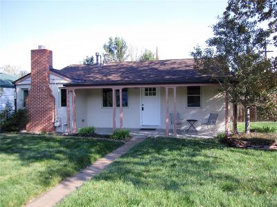 Wheat Ridge CO Single Family Home Active: $374,900