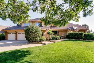 Centennial Single Family Home Active: 5278 East Otero Circle