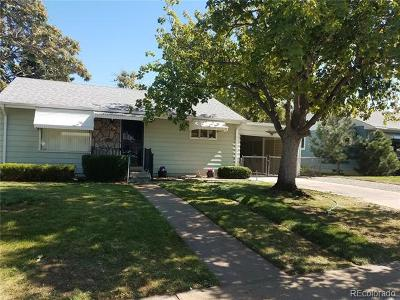 Denver Single Family Home Active: 1236 South Bryant Street
