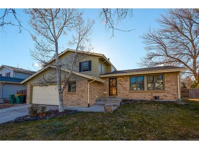 Arvada Single Family Home Under Contract: 6625 Cole Court