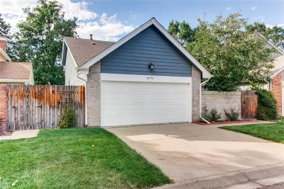 Arvada Single Family Home Active: 8775 Independence Way