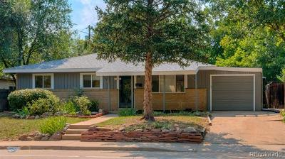 Boulder Single Family Home Active: 3045 Folsom Street