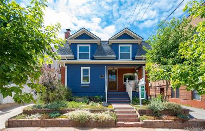 Denver Single Family Home Under Contract: 624 East 12th Avenue
