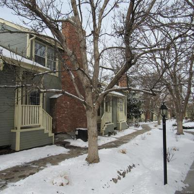 Aurora Condo/Townhouse Under Contract: 1980 South Hannibal Street #C