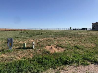 Adams County Residential Lots & Land Active: 8351 East 130th Circle