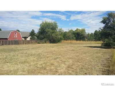 Arapahoe County Residential Lots & Land Active: 9382 East Jewell Circle