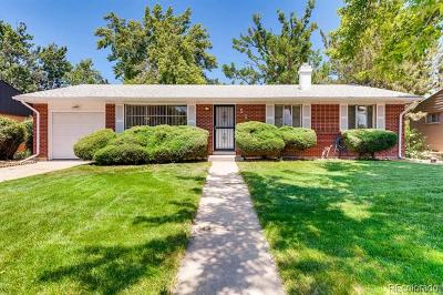 Denver Single Family Home Active: 5525 East Exposition Avenue