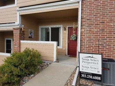 Arvada Condo/Townhouse Under Contract: 10350 West 55th Lane #3