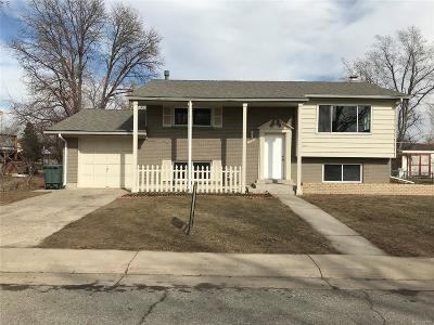 Northglenn Single Family Home Under Contract: 11440 Ogden Street
