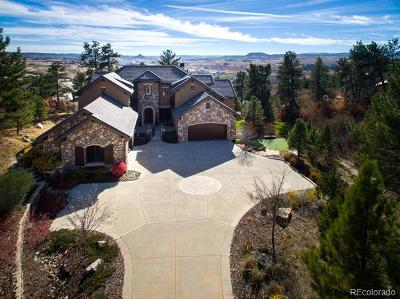 Castle Rock CO Single Family Home Active: $3,000,000