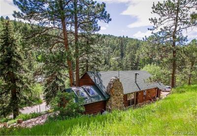 Morrison Single Family Home Active: 7488 South Turkey Creek Road