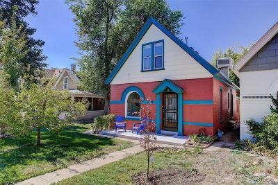 Denver CO Single Family Home Active: $550,000