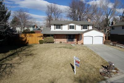 Arvada Single Family Home Under Contract: 8271 Upham Court
