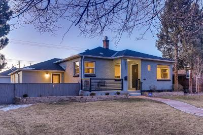 Denver Single Family Home Active: 2817 Albion Street