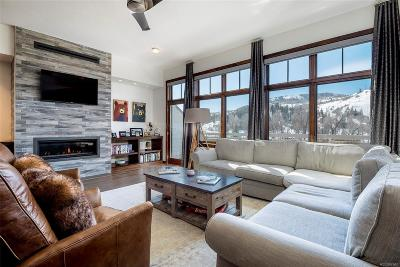 Steamboat Springs Condo/Townhouse Active: 700 Yampa Avenue #A404