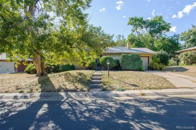 Denver Single Family Home Active: 2845 South Winona Court