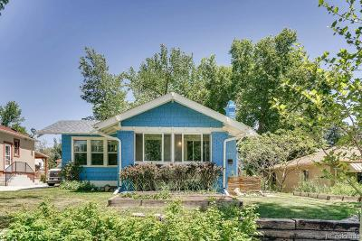 Wheat Ridge Single Family Home Under Contract: 2922 Eaton Street