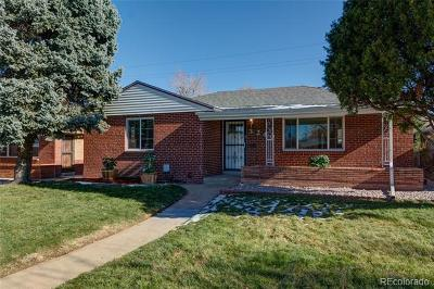 Denver Single Family Home Active: 3240 Monaco Parkway
