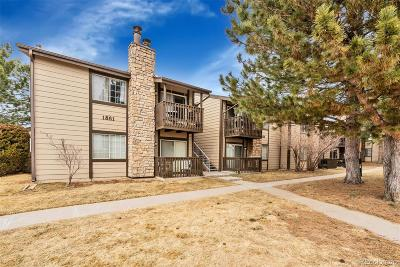 Aurora Condo/Townhouse Active: 1863 South Pitkin Circle #B