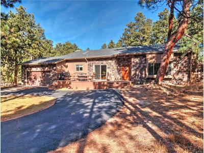Monument Single Family Home Under Contract: 19115 Pebble Beach Way