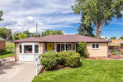 Broomfield Single Family Home Under Contract: 933 East 10th Avenue