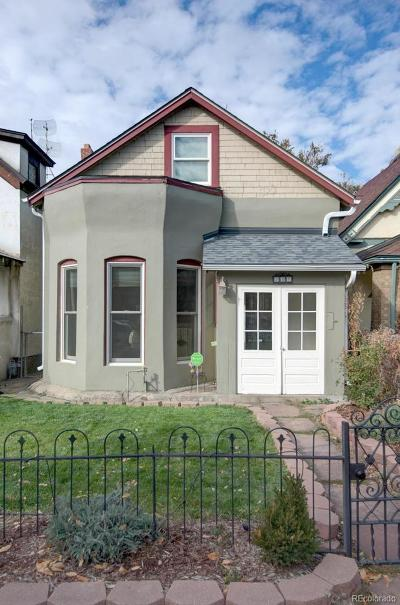 Denver Single Family Home Active: 257 Fox Street