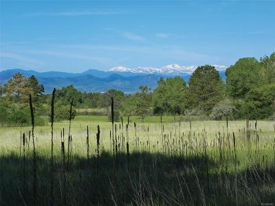 Arapahoe County Residential Lots & Land Active: 5160 South Jackson Place