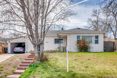 Denver Single Family Home Active: 5130 West Gill Place