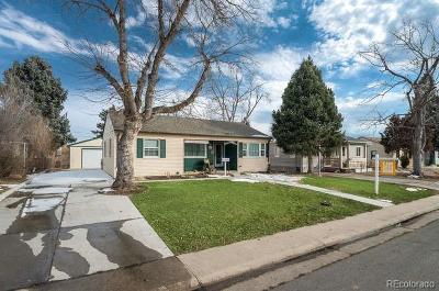 Denver Single Family Home Active: 1250 South Utica Street