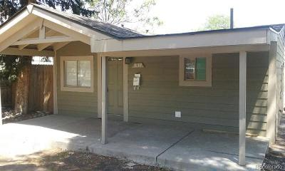Denver Single Family Home Active: 3137 West Custer Place