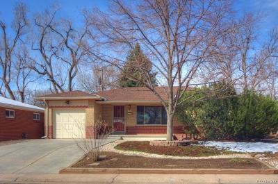 Lakewood Single Family Home Active: 1345 South Eaton Street