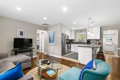 Denver Single Family Home Active: 1180 South Elm Street