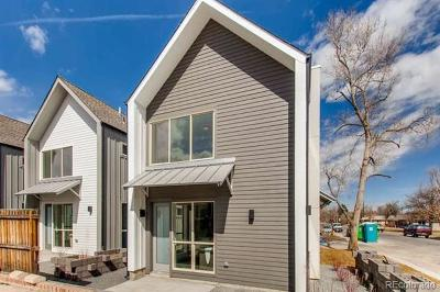 Denver Condo/Townhouse Active: 2823 Jackson Street