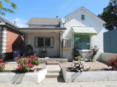 Denver Single Family Home Active: 1317 East 37th Avenue