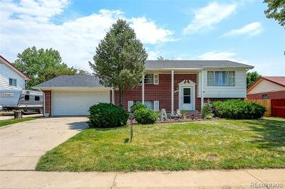 Northglenn Single Family Home Active: 10886 Melody Drive