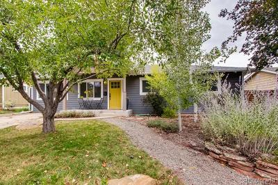 Boulder CO Single Family Home Active: $839,000