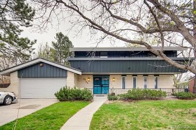 Denver Single Family Home Active: 3764 South Niagara Way